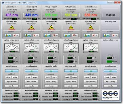 Omicron Control Center (OCC) Software